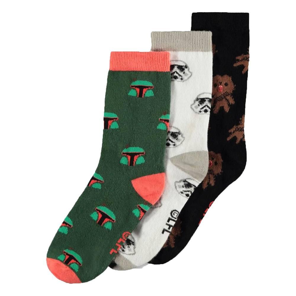 Star Wars Socks 3-Pack Mix 39-42