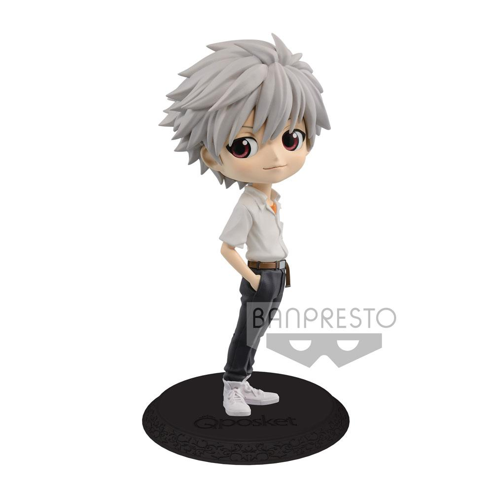 Evangelion Movie Q Posket Mini Figure Kaworu Nagisa Ver. B 14 cm