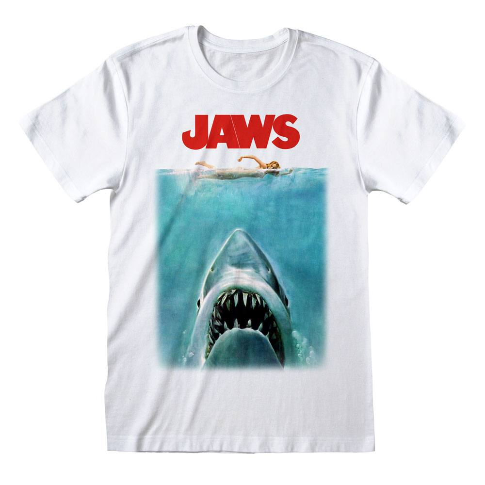 Jaws T-Shirt Poster Size M