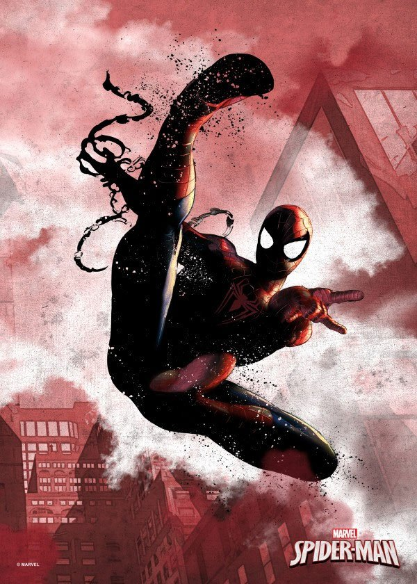 Marvel Comics Metal Poster Spider-Man 32 x 45 cm