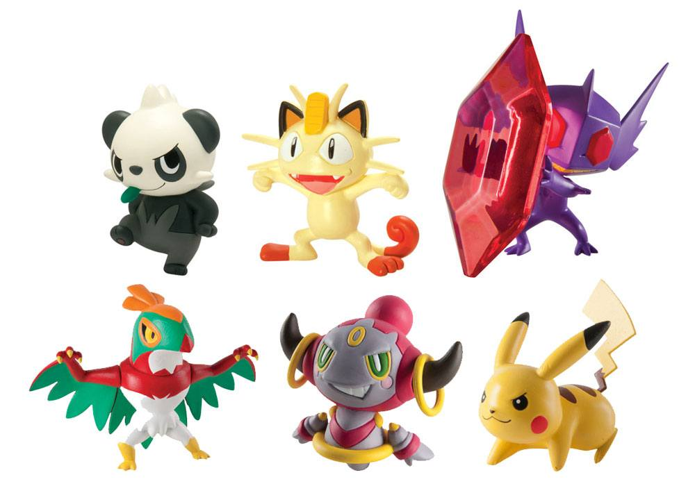 Pokemon Action Figures 6 cm Assortment (8)