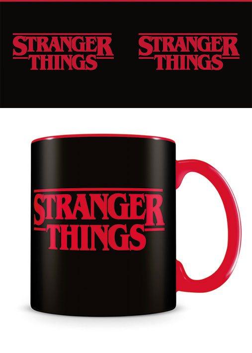 Stranger Things Mug Logo