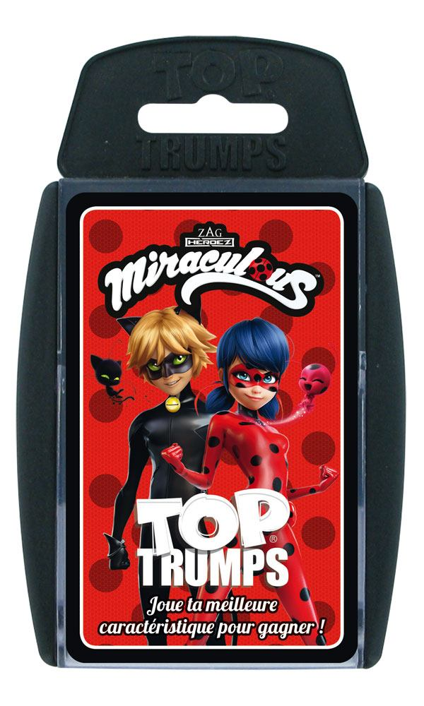 Miraculous: Tales of Ladybug & Cat Noir Card Game Top Trumps *French Version*