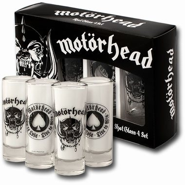 Motörhead Shotglass 4-Pack
