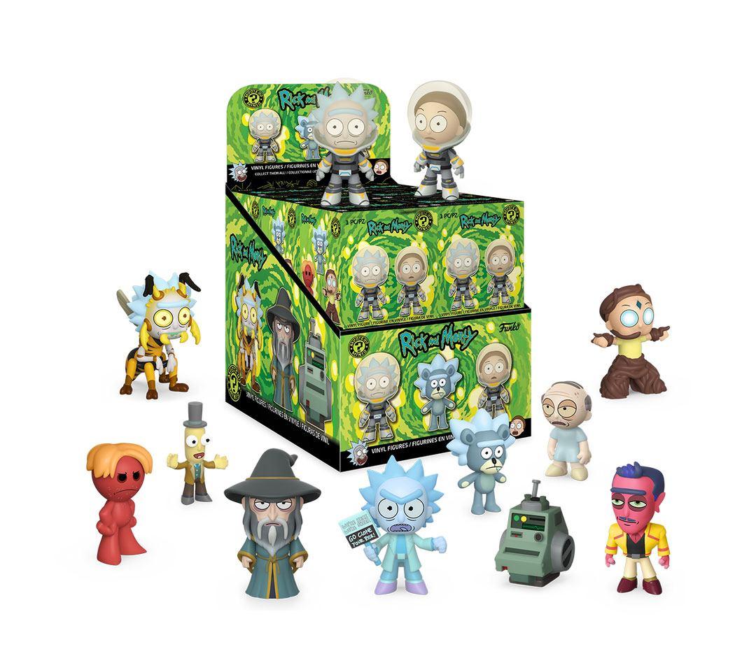 Rick & Morty Mystery Minis Vinyl Mini Figures 6 cm Display (12)