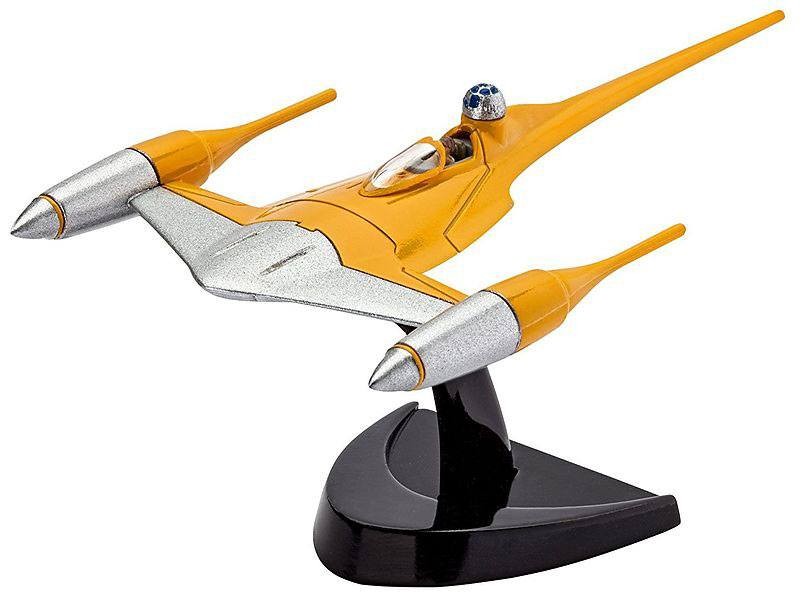 Star Wars Model Kit 1/109 Naboo Starfighter 10 cm