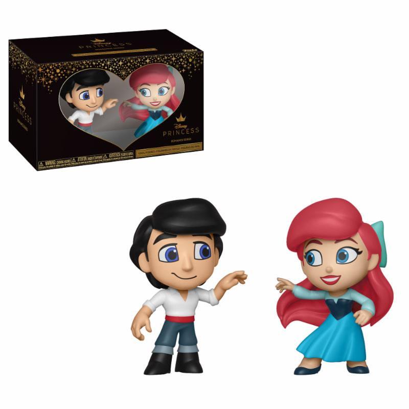 The Little Mermaid Mystery Mini Vinyl Figures 2-Pack Eric & Ariel 6 cm
