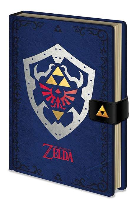 Legend of Zelda Premium Notebook A5 Hylian Shield