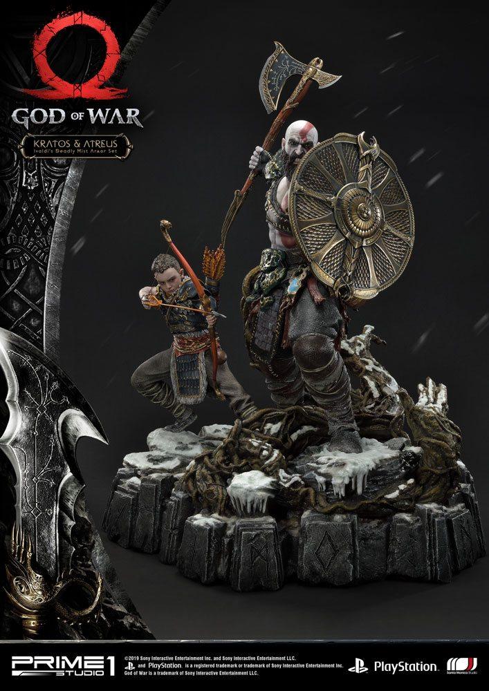 God of War (2018) Statue Kratos & Atreus 72 cm