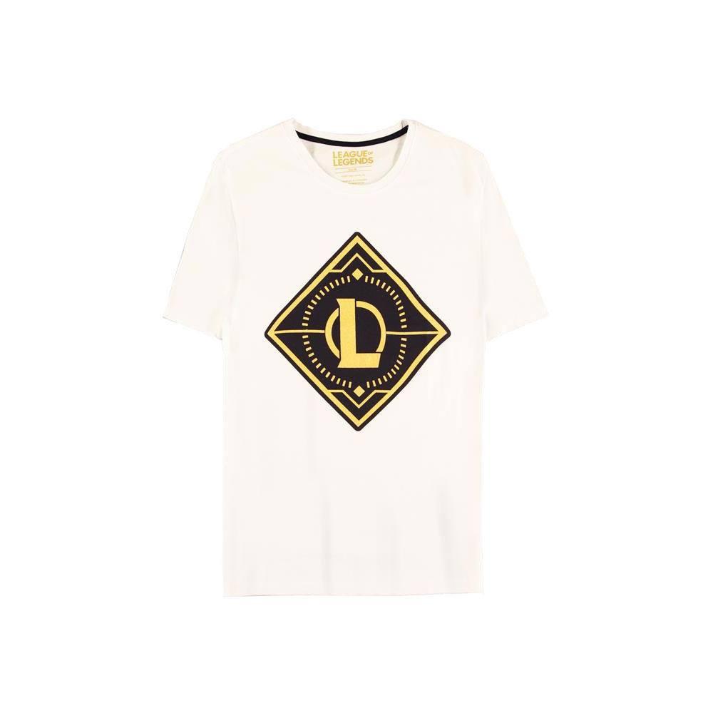 League of Legends T-Shirt Gold Logo Size M