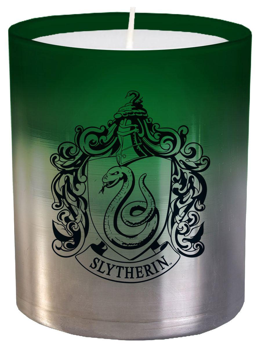 Harry Potter Glass Candle Slytherin 8 x 9 cm
