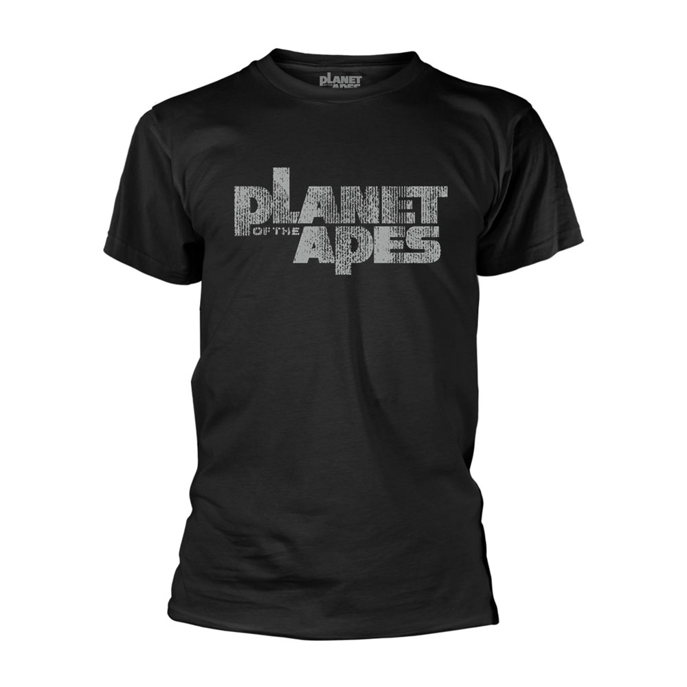 Planet of the Apes T-Shirt Distress Logo Size L