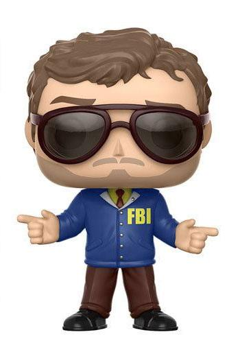 Parks and Recreation POP! TV Vinyl Figure Bert Macklin 9 cm