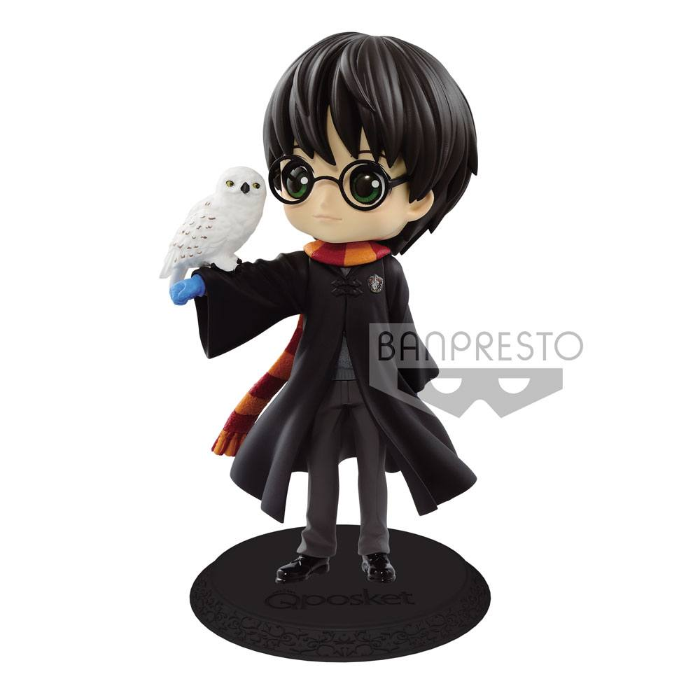 Harry Potter Q Posket Mini Figure Harry Potter II A Normal Color Version 14 cm