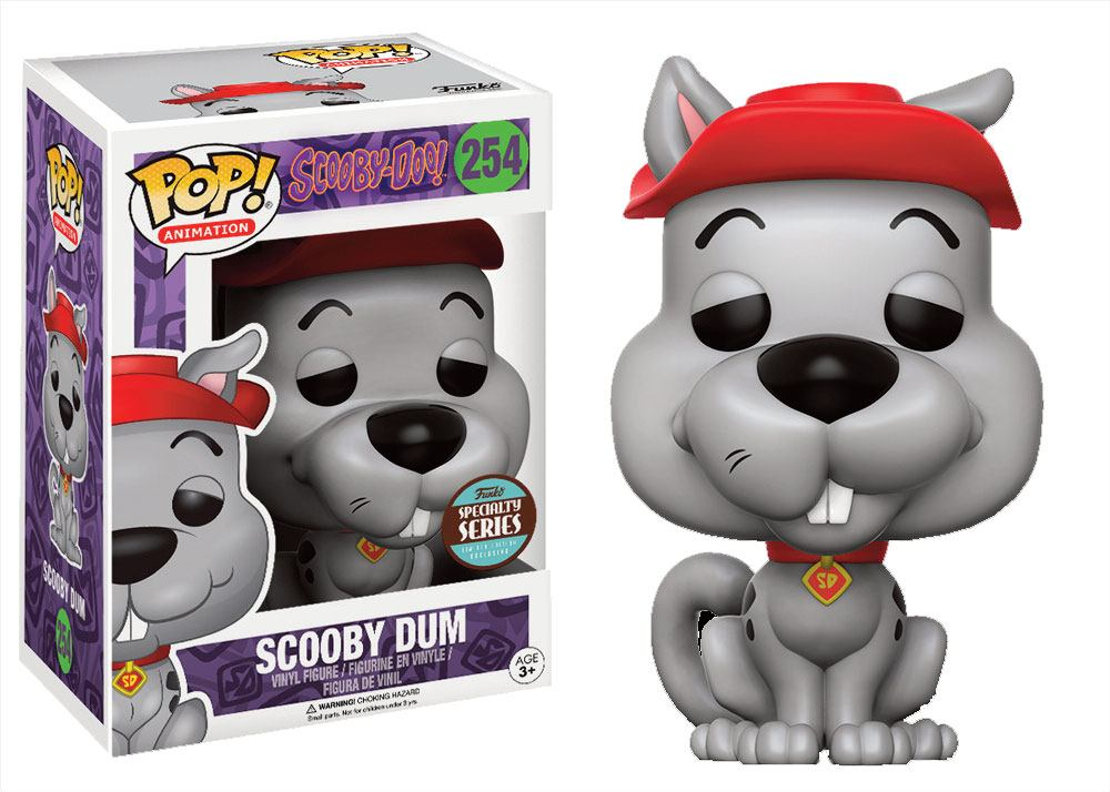 Scooby Doo POP! Television Vinyl Figure Speciality Series Scooby Dum 9 cm