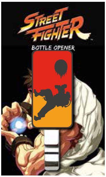 Street Fighter Bottle Opener Fireball 9 cm