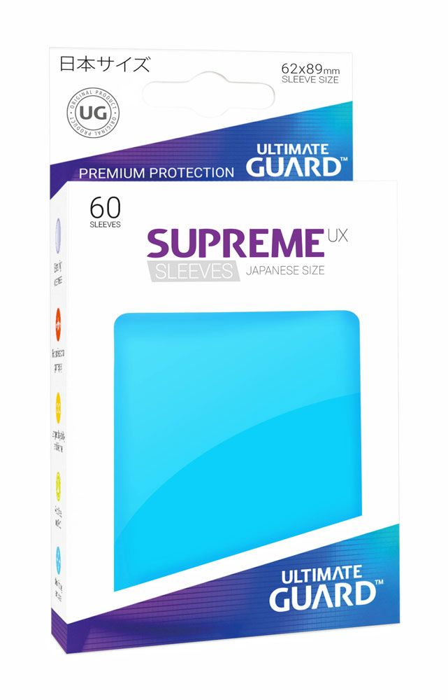 Ultimate Guard Supreme UX Sleeves Japanese Size Light Blue (60)
