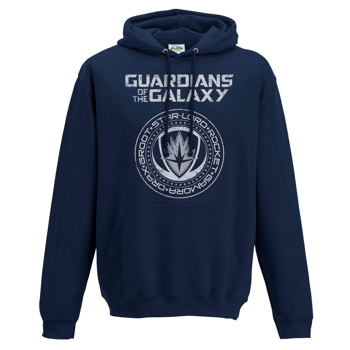Guardians of the Galaxy 2 Hooded Sweater Crest Size M