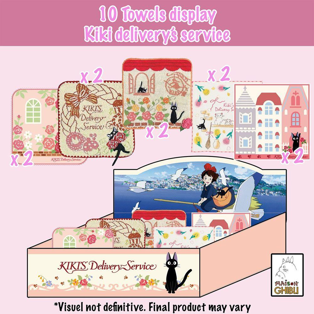 Kiki's Delivery Service Mini Towels 25 x 25 cm Display (10)