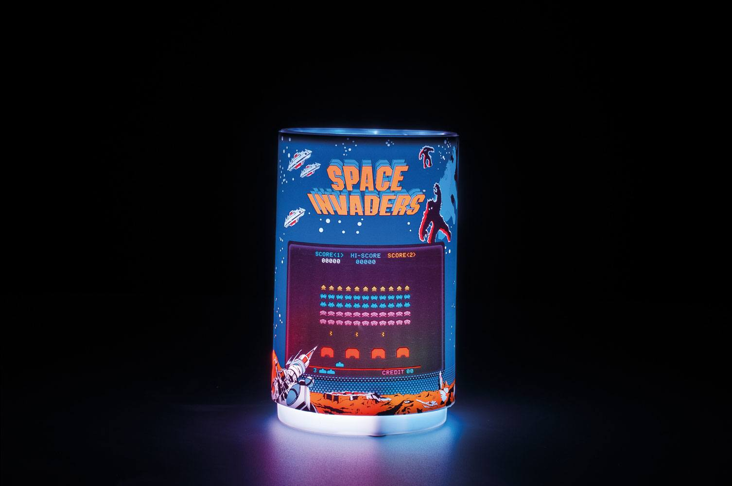 Space Invaders Projection Light 10 cm
