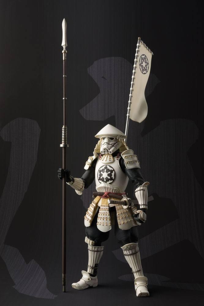 Star Wars MMR Action Figure Yari Ashigaru Stormtrooper Tamashii Web Exclusive 18 cm