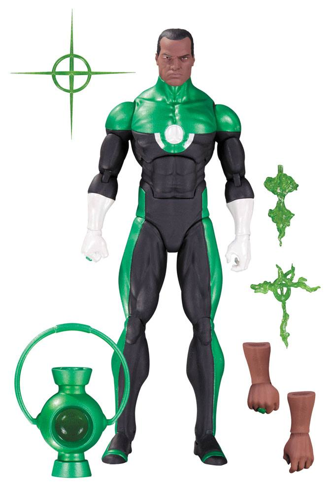 DC Comics Icons Action Figure Green Lantern John Stewart (Mosaic) 15 cm