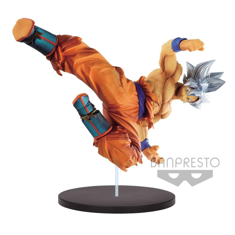 Dragonball Super Son Goku Fes Figure Son Goku Ultra Instinct 20 cm