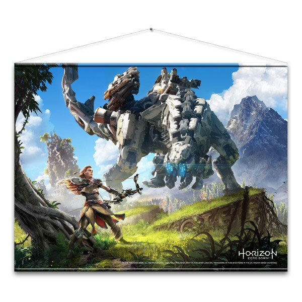 Horizon Zero Dawn Wallscroll Cover Art 100 x 77 cm