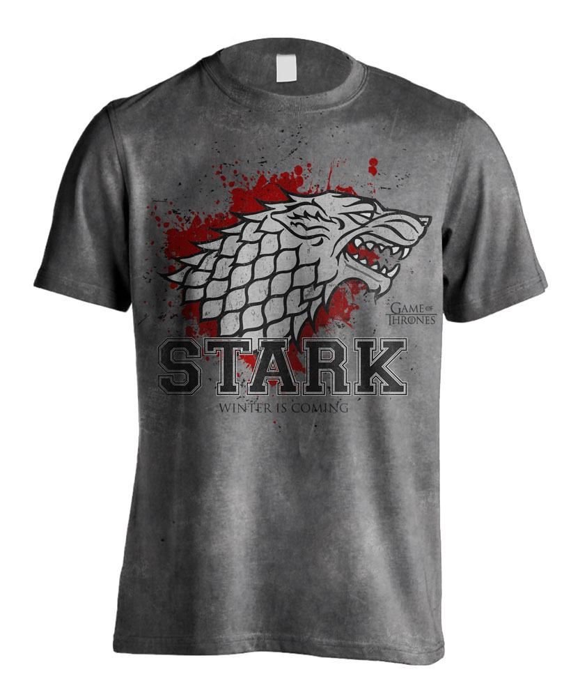 Game of Thrones T-Shirt Stark the Fighter Size M