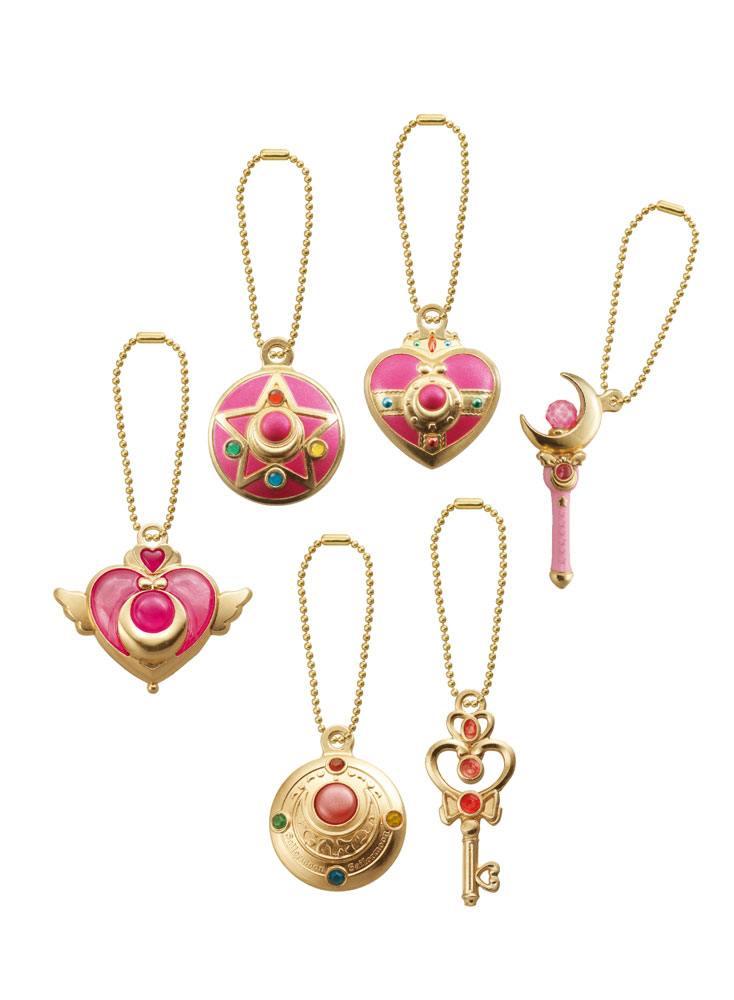 Sailor Moon Diecast Charm Set