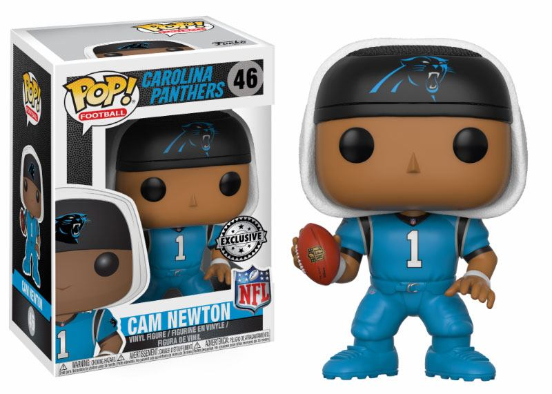 NFL POP! Football Vinyl Figure Cam Newton (Carolina Panthers) 9 cm