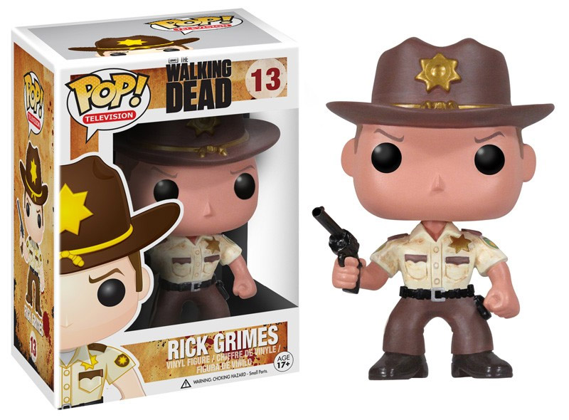 The Walking Dead POP! Vinyl Figure Rick 10 cm