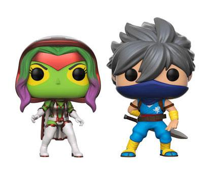 Marvel vs. Capcom Infinite POP! Games Vinyl Figure 2-Pack Gamora vs. Strider Exclusive 9 cm
