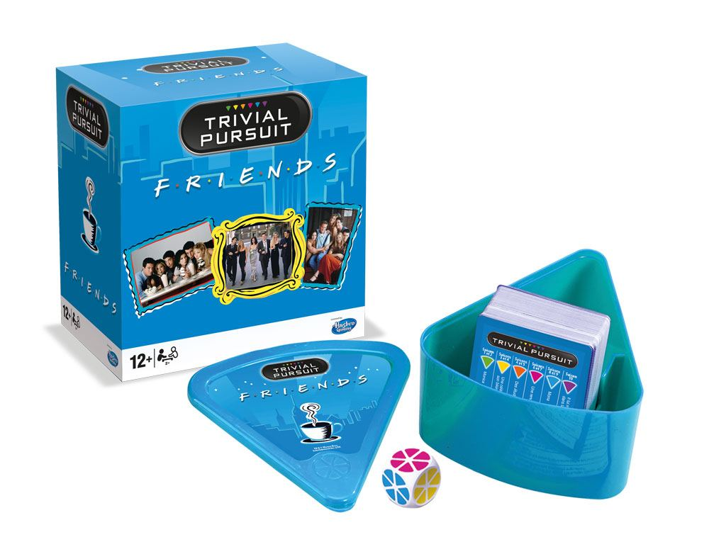 Friends Card Game Trivial Pursuit Voyage *French Version*