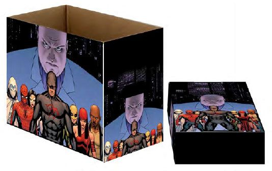 Marvel Comics Storage Boxes Defenders Team 23 x 29 x 39 cm Case (5)