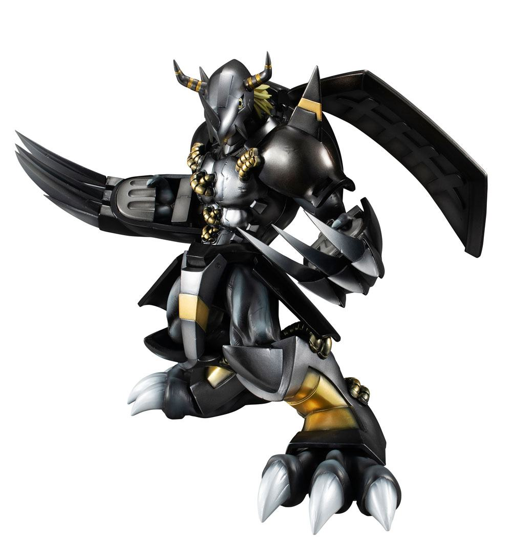 Digimon Adventure G.E.M. Series PVC Statue Black Wargreymon 25 cm