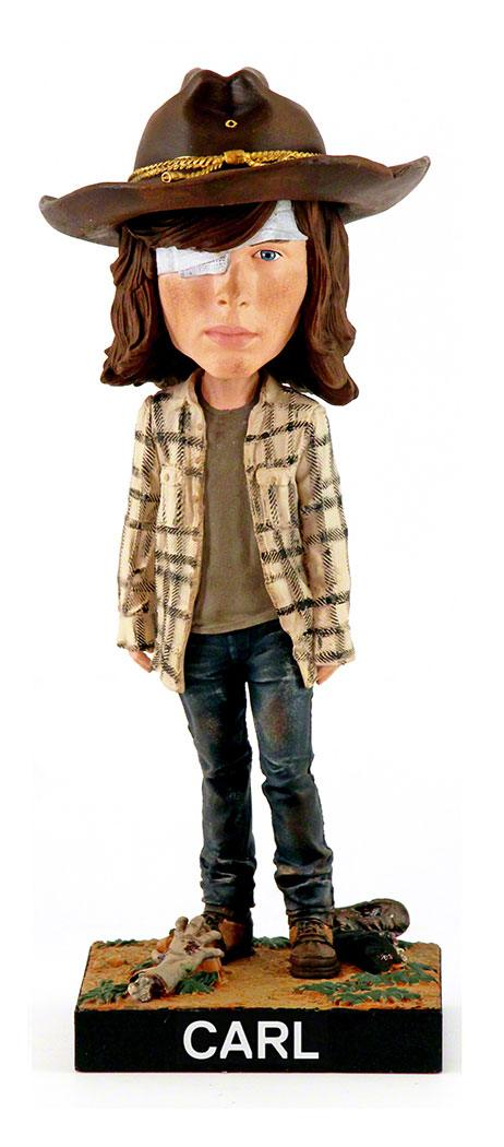 Walking Dead Bobble-Head Carl 20 cm