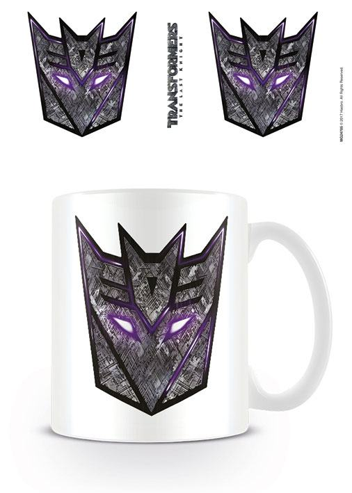 Transformers The Last Knight Mug Decepticon Logo