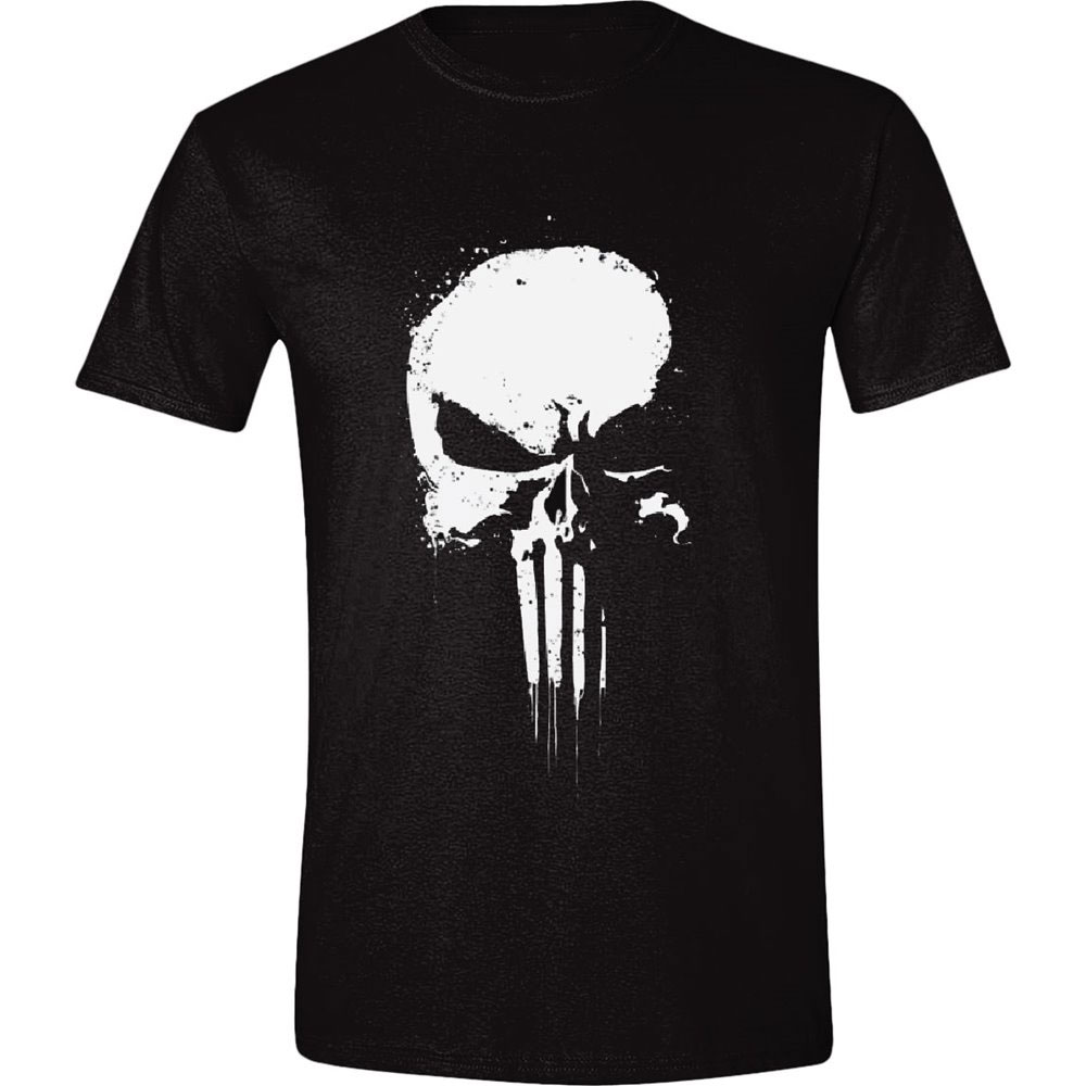 The Punisher T-Shirt Series Skull  Size L