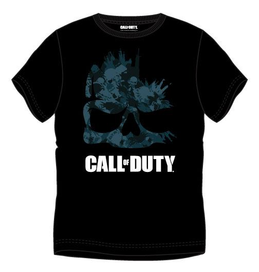 Call of Duty T-Shirt Shadow Skull Size M
