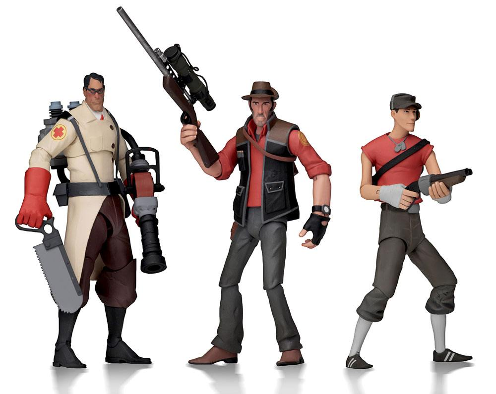 Team Fortress 2 Action Figures 18 cm Serie 4 RED Assortment (12)