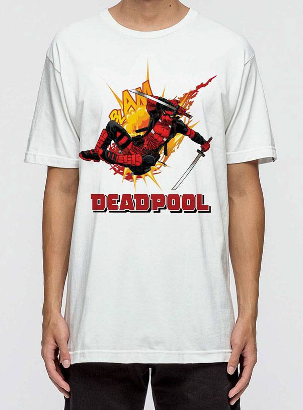 Deadpool T-Shirt Slam Size XL
