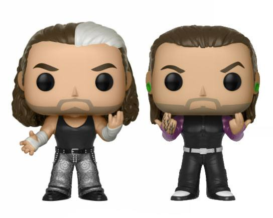 WWE POP! Vinyl Figures 2-Pack The Hardy Boyz 9 cm