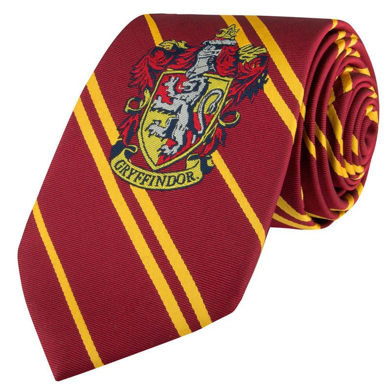 Harry Potter Woven Necktie Gryffindor New Edition