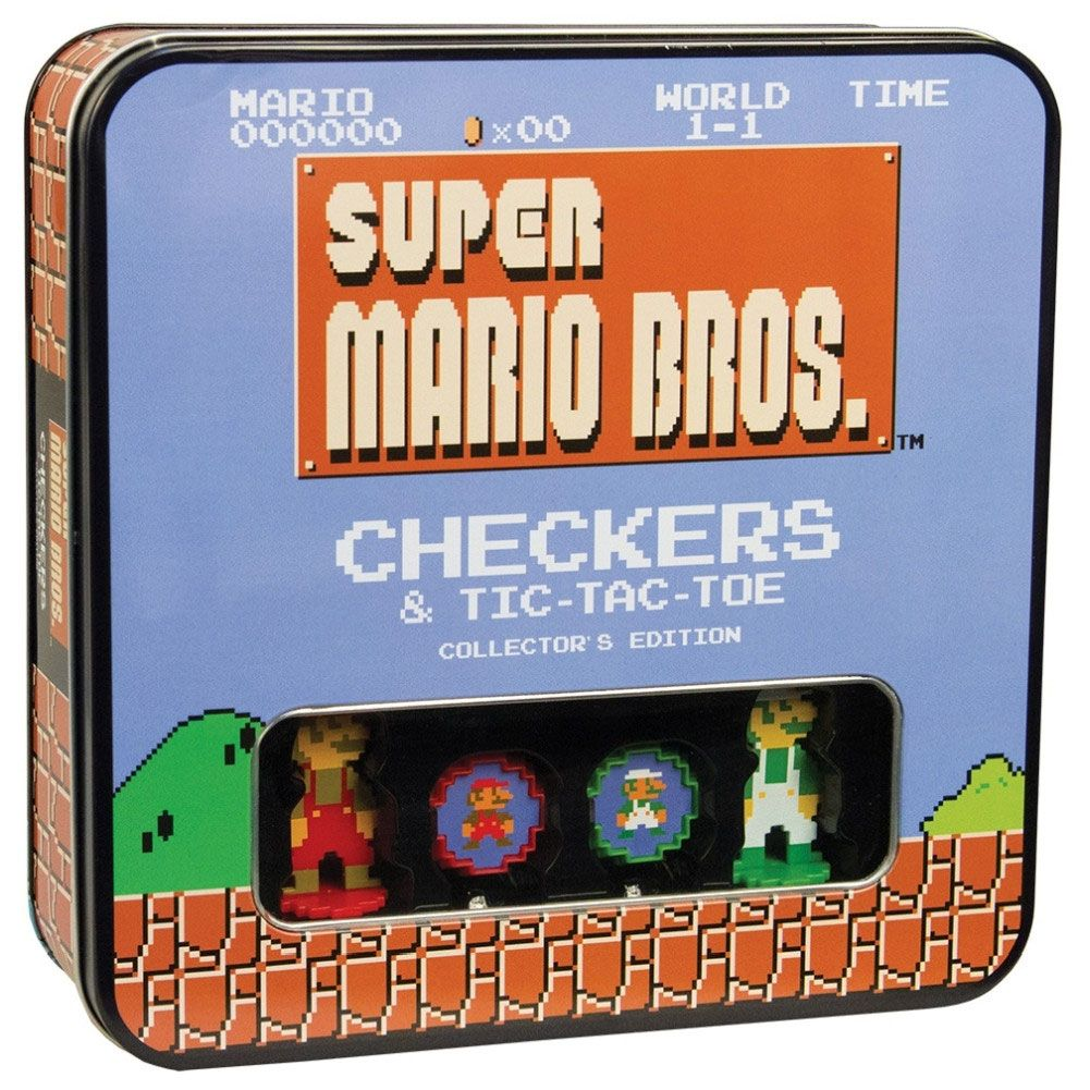 Super Mario Bros. Boardgame Checkers Collector's Edition