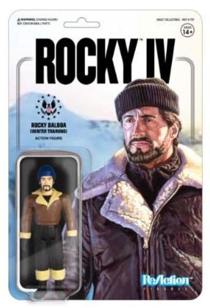 Rocky 4 ReAction Action Figure Rocky (Winter Training) 10 cm