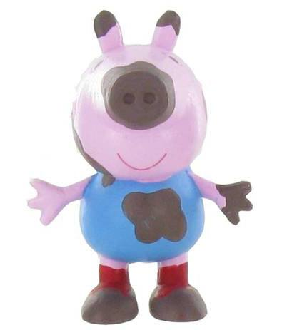 Peppa Pig Mini Figure George On The Mud 5 cm
