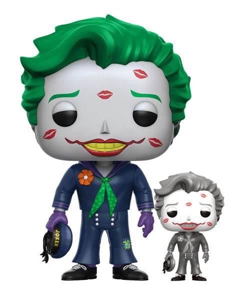 DC Comics Bombshells POP! Heroes Vinyl Figures 9 cm Joker with Kisses Assortment (6)