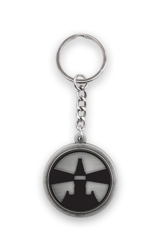 The Evil Within Metal Keychain Asylum