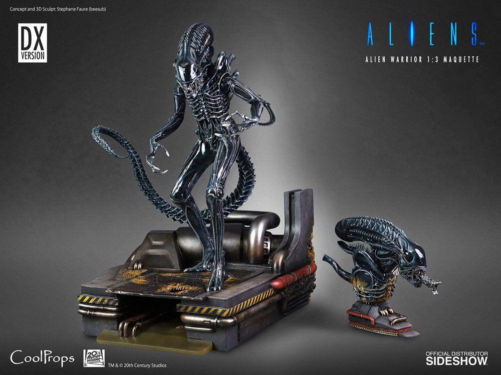 Alien Statue 1/3 Alien Warrior Deluxe 74 cm